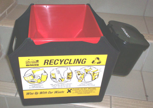 recycling crate